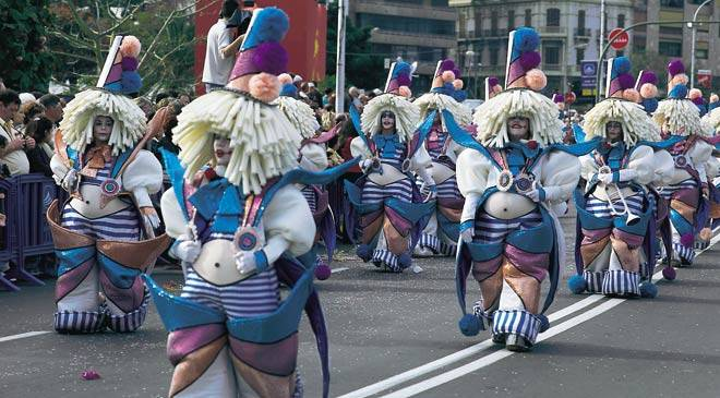 carnaval Santa Cruz Tenerife
